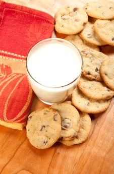 Free Cookies And Milk Stock Image - 18771741
