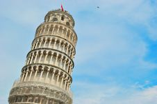Free Leaning Tower Of Pisa Royalty Free Stock Images - 18771879
