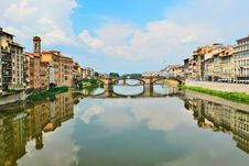 Free Arno River In Florence Of Italy Royalty Free Stock Photography - 18771977