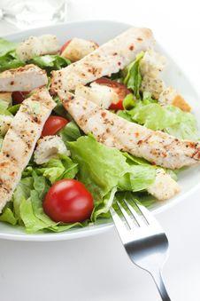 Fresh Salad Stock Image