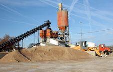 Free Cement Plant Horizontal Stock Photo - 18773490