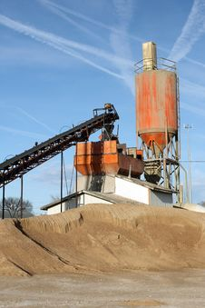 Free Cement Plant Vertical Royalty Free Stock Images - 18773499