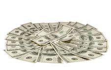 Free Hundred Dollar Bills Royalty Free Stock Photos - 18774778