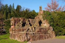 Free Ancient Romain Monument In Baden-Baden, Germany Stock Photo - 18775620