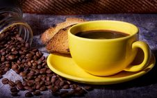 Free Black Coffee Royalty Free Stock Photography - 18776087