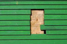 Free Green Planking Stock Image - 18776151