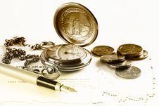 Free Financial Charts And Graphs Royalty Free Stock Photo - 18776645