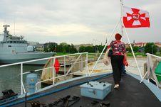 Free Tour On A Military Ship Stock Photos - 18777203