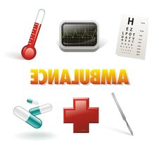 Free Medicine Icon Set Royalty Free Stock Photo - 18778455