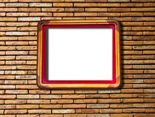Free The Blank Of Wooden Frame Stock Photos - 18779133