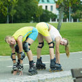 Free Inline Skaters Royalty Free Stock Images - 18782949