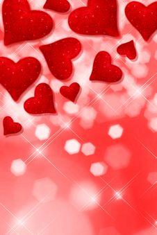 Free Read Hearts Royalty Free Stock Image - 18781246