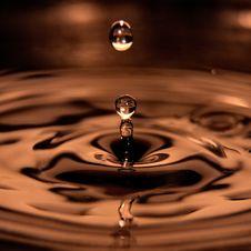 Free Water Drop Royalty Free Stock Photos - 18781778