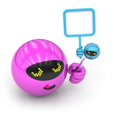 Free Toy Collection - Push Here Stock Photography - 18781962