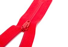 Free Red Zipper Stock Photo - 18782380