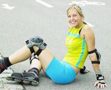 Free Inline Skater Royalty Free Stock Photos - 18782958