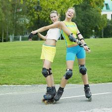 Free Inline Skaters Stock Photos - 18782963