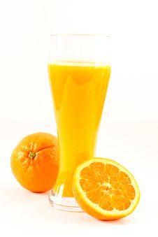 Free Fresh Orange Juice Royalty Free Stock Photography - 18783037