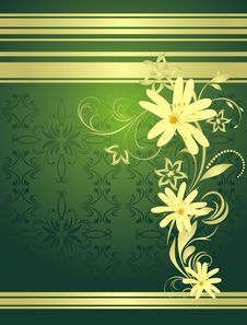 Free Spring Bouquet. Decorative Background For Wrapping Royalty Free Stock Photo - 18785245