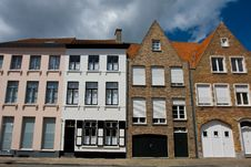 Free Old City Architecture, Brugge. Royalty Free Stock Photos - 18785678