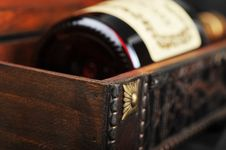 Free Cognac Bottle Royalty Free Stock Images - 18785779