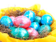 Free Easter Eggs Royalty Free Stock Images - 18786649