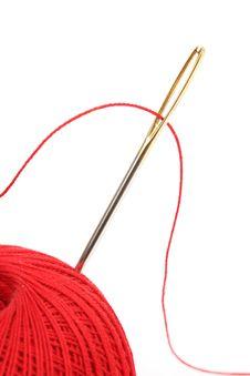 Free Needle Thread Royalty Free Stock Photo - 18788625