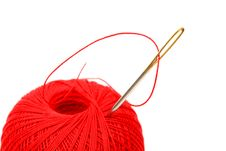 Needle Thread Stock Images