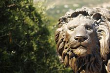 Lion Statue Royalty Free Stock Image