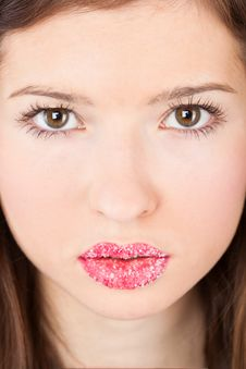 Free A Face Of A Beautiful Girl Stock Photography - 18789242