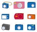 Free Cartoon Camera Icon Stock Photo - 18794400