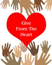 Free Give From The Heart Royalty Free Stock Photo - 18797535