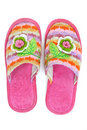Free Pink Female House Slippers Stock Images - 18799064