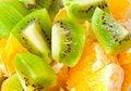 Free Orange And Kiwi Royalty Free Stock Photos - 18799208