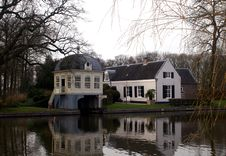 Free View On The River Vecht Royalty Free Stock Images - 18790319