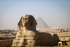 Free Full-face Of Sphinx Royalty Free Stock Photo - 18791365