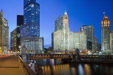 Free Chicago Riverside Stock Image - 18792181