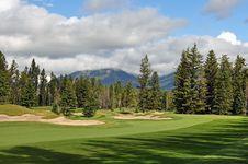 Mountain Golf Royalty Free Stock Photo