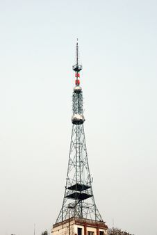 Free TV Tower Royalty Free Stock Photos - 18794598