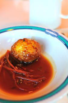 Free Seasoned Egg Stock Photo - 18796100