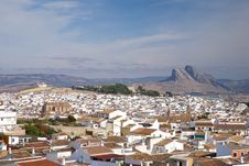 Free Lovers Mountain At Antequera Stock Photos - 18796103
