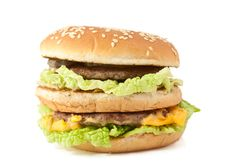 Free Double Cheeseburger Stock Photos - 18796363