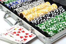 Free Gaming Case With Fishes Stock Photos - 18796553