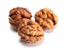 Free Walnuts Royalty Free Stock Photography - 18796857