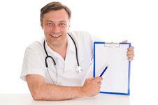 Free Closeup Portrait Of A Doctor Stock Photos - 18797183