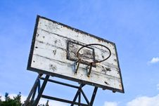 Free Basketball Hoop Royalty Free Stock Photography - 18797907