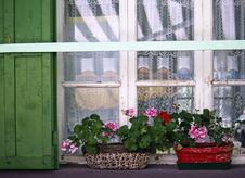Dolomites Window, Italy Stock Photos