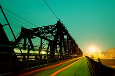 Free Railway Bridge Stock Image - 18799651