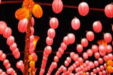 Free Red Lanterns Stock Photos - 18799743