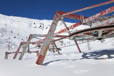 Free Abandoned Chair Lift Stock Photo - 18799810